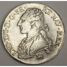 1792A France 1/2 ECU 44 Sols KM562.1 EF40