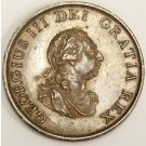 1799 Great Britain Half Penny 5 incuse gunports KM647