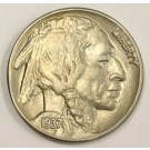 1937 Buffalo Nickel Choice Uncirculated MS63