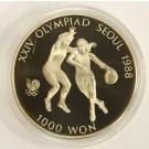 1988 Korea Seoul Olympics 1000 Won
