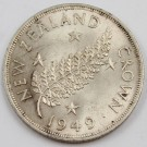 1949 New Zealand Crown Uncirculated MS63+