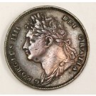 1822 Great Britain Farthing coin nice VF