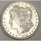 1884o Morgan silver dollar MS64