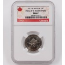 2011 Canada 25 Cent NGC MS67 From the Tooth Fairy Quarter