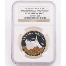 2010 Canada S$1 NGC PF69 Ultra Cameo Coin