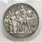 1913 Prussia Germany 3 Mark Wilhelm II 1813 Defeat of Napoleon silver coin