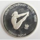 1988 Olympics Seoul Korea 10000 won silver coin DIVING