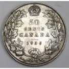 1936 Canada 50 Cents VF30