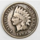 1908s Indian Cent nice key date coin