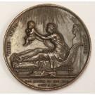 FRANCE 1820 SEPT 29 Bronze Medal duc de Bordeaux