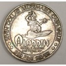 $7 Aladdin Casino silver gaming token ALI BABA 24.8 grams 999 pure silver