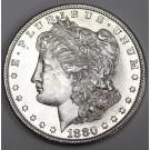 1880s Morgan Silver Dollar Gem Uncirculated