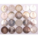 1867-1967 Canada Centennial Official Medals 20-coins 494 grams of .925 SILVER