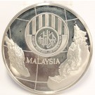 Malaysia 25 Ringgit Silver coin 1976 Employee Provident Fund