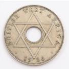 1936 British West Africa One Half Penny EF/AU