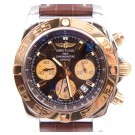 Breitling Chronomat 44 Mens Automatic Gold and Stainless Watch CB011012