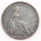 1822 Great Britain Farthing VF+