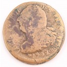 1792 france 2 Sols bronze coin