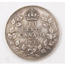 1933 Canada 10 cents EF45