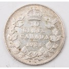 1933 Canada 10 cents a/EF