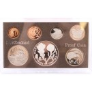 1981 New Zealand coin set Royal Visit 7-coins choice Proof condition