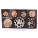 1983 New Zealand coin set 7-coins choice Proof condition