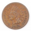1864 L Indian Head cent nice VG+