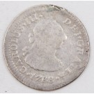 1788 Mexico 1/2 Real silver coin FM KM-69.2 circulated
