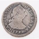 1779 Peru 1 Real silver coin Lima-MJ KM-75 circulated