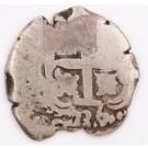 1736 Bolivia 2 Reales E Potosi KM#29a 5.94 grams circulated