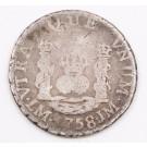 1758 Peru Real silver coin JM Lima KM#52 circulated