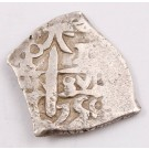 1750 Bolivia 1 Real silver cob Potosi KM#37 3.72 grams VF+