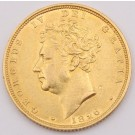 1826 Great Britain gold Sovereign EF+