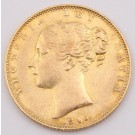 1846 Great Britain gold Sovereign a/EF
