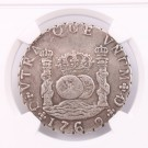 Guatemala 8 Reales 1769 G P NGC XF details repaired