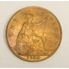 Great Britain 1928 Penny Choice  MS63+RB