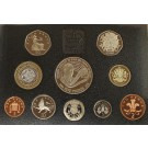 1998 Prince of Wales 50th Birthday 10 Coin Proof Set