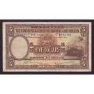 1946 Hong Kong HSBC $5 Dollars banknote