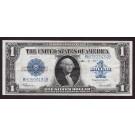 1923 USA $1 silver certificate Speelman White ink December 18 1925